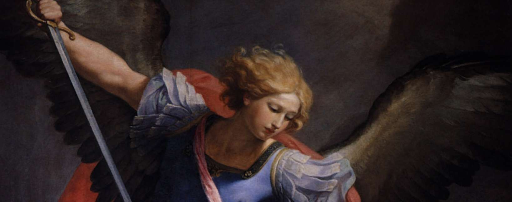 Saint Michel archange, par Guido Reni, Santa Maria della Concezione de Cappuccini, Rome.